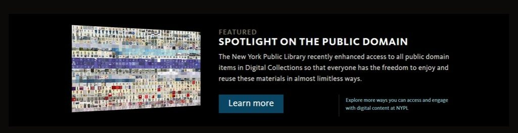 ニューヨーク公立図書館スポットライト