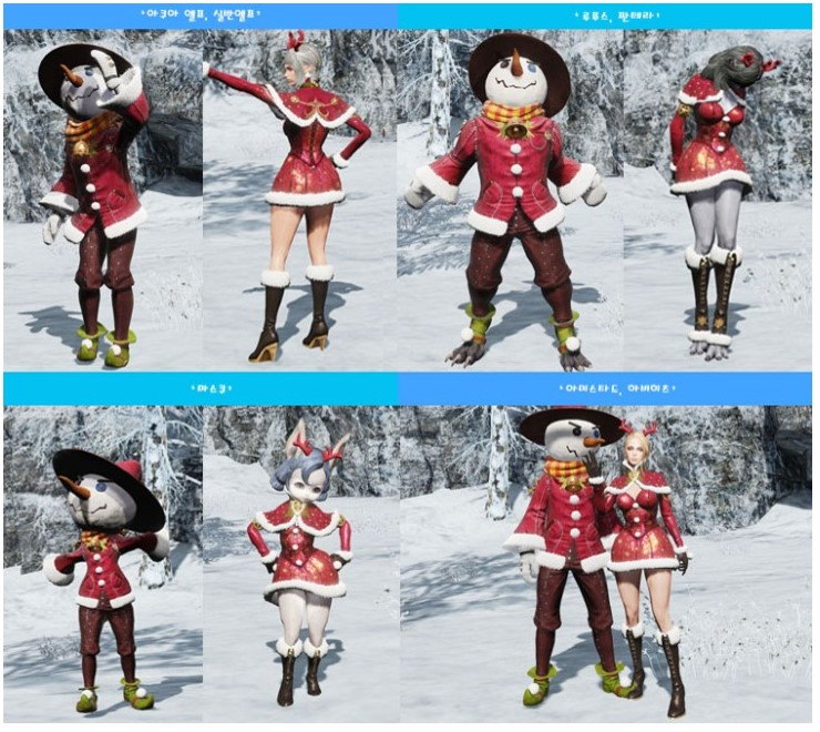 冬祭りの衣装