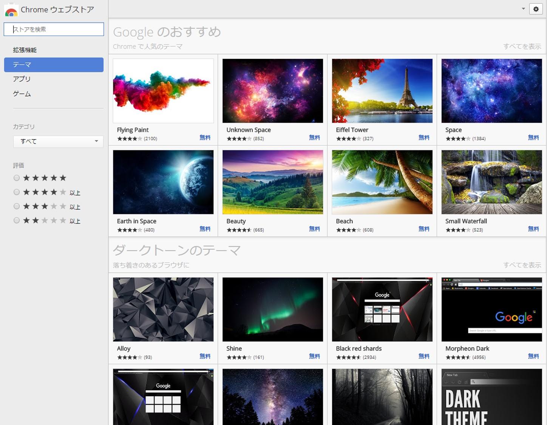 意外に簡単 google chromeのテーマをカスタマイズする方法 フロリダぶ