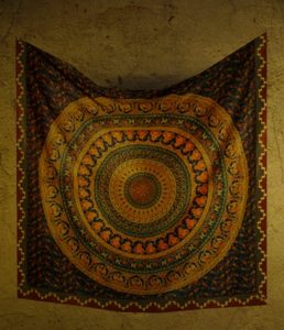 フローリンの夜明け壁掛カーペット1