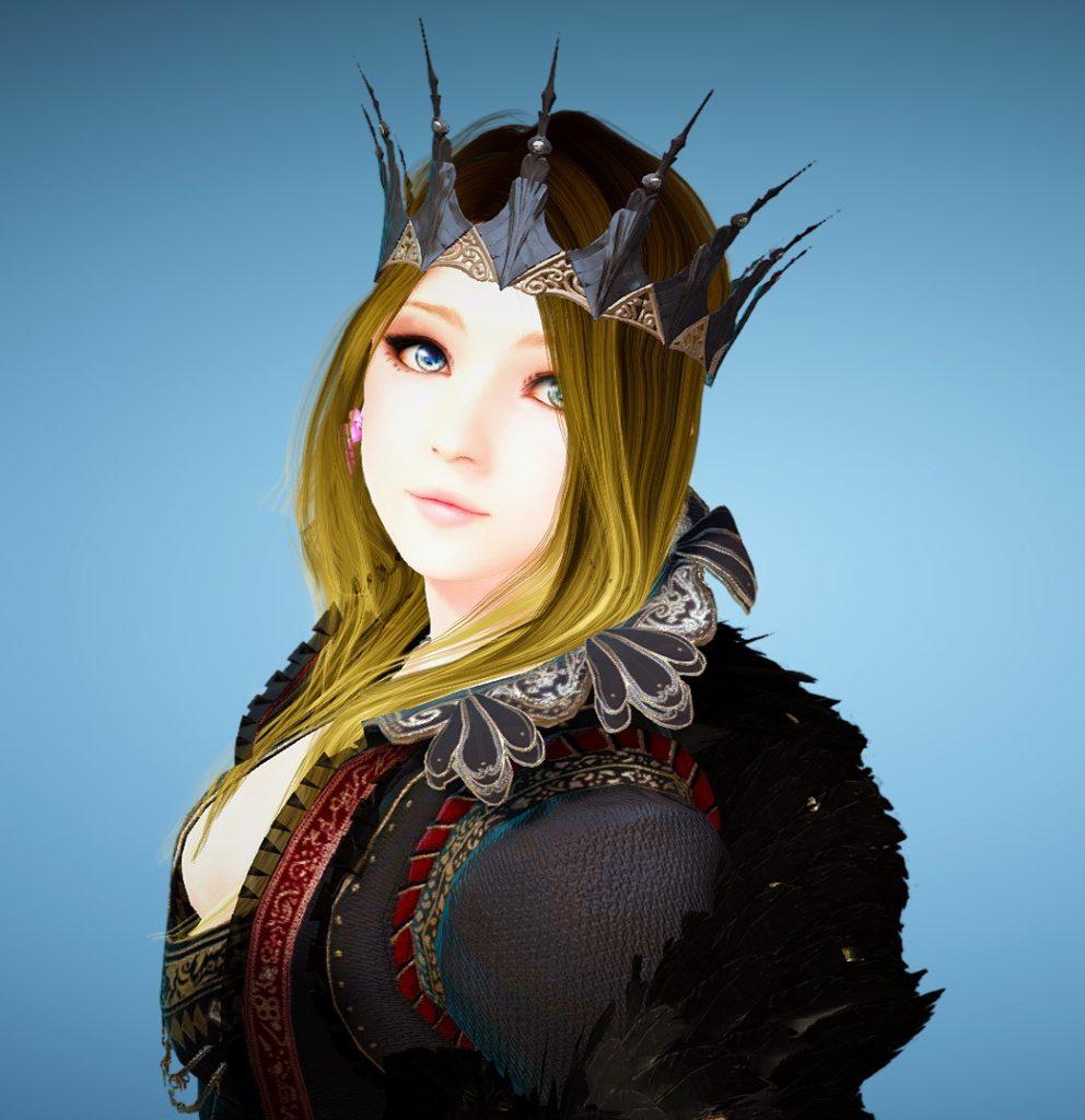 アバター闇の女王衣装セット