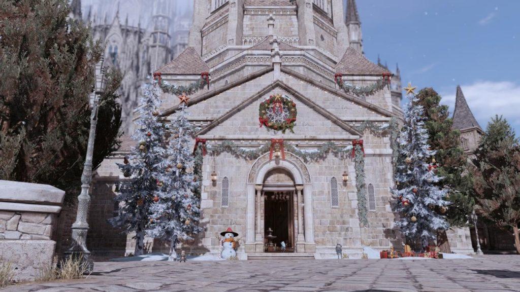 クリスマス貴族街