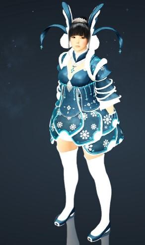 万年雪衣装セット1